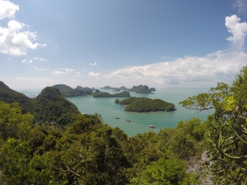 View point - Ang Tong Marine park reached from Koh Samui