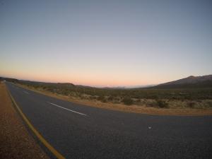 Moon rise near Warm Waterberg  Klein Karoo