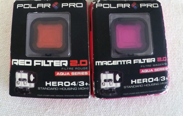 GoPro filters in box