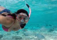 Natalia snorkel