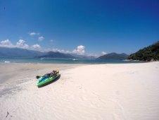 Kayak - Ilha Tamanduá - Caraguatatubá - Brazil