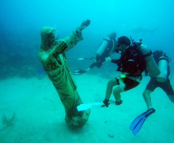 Providencia Jesus Statue