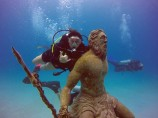 Neptune Statue - WestView San Andrés Island