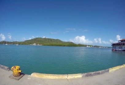 The port facing Santa Catalina
