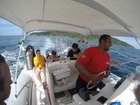 Team Bellsub after dives at Ilha de Búzios